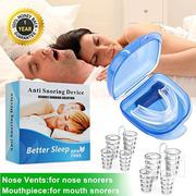 Stop Snore Device Sleeping Aid Equipment Stop Snoring - 8pcs/Box   Tools & Accessories for sale in Lagos State, Lagos Island