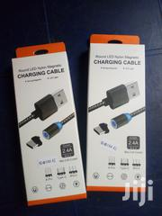 Magnetic USB Cable | Accessories for Mobile Phones & Tablets for sale in Ondo State, Akure South