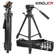 Kingjoy VT-1500 Black Video Tripod | Accessories & Supplies for Electronics for sale in Lagos State, Ikeja