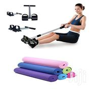 Yoga Mat With Tummy Trimmet | Sports Equipment for sale in Lagos State, Lagos Island