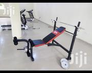 Weight Lifting Bench With 30kg Barbell | Sports Equipment for sale in Abuja (FCT) State, Asokoro