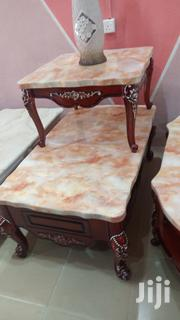 Marble Royal Center Table With Two Stools | Furniture for sale in Lagos State, Amuwo-Odofin