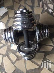 Imported Complete 25kg Dumbbell | Sports Equipment for sale in Lagos State, Surulere
