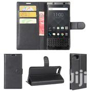 Blackberry Keyone Case Leather Wallet Case Flip Cover | Accessories for Mobile Phones & Tablets for sale in Lagos State, Ikeja