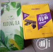 Kudding Tea And Isylm Wafers For Weight Loss | Vitamins & Supplements for sale in Lagos State, Lagos Mainland