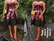 Black Based Multi-colour Gown | Clothing for sale in Lagos State, Lagos Island