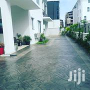 Stamped Concrete Floor Set In Stone | Building & Trades Services for sale in Oyo State, Akinyele