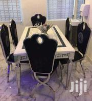 Quality Marble Dinning Table With Six Chairs | Furniture for sale in Lagos State, Ikorodu