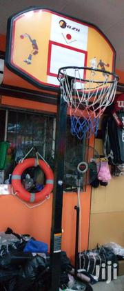 Basketball Upright With Net And Rim (Complete Set) | Sports Equipment for sale in Lagos State, Victoria Island