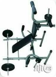 American Fitness Weight Beach With 45kg Dumbbell | Sports Equipment for sale in Lagos State