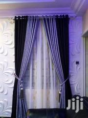 Black An Grey Curtain | Home Accessories for sale in Lagos State, Ikeja