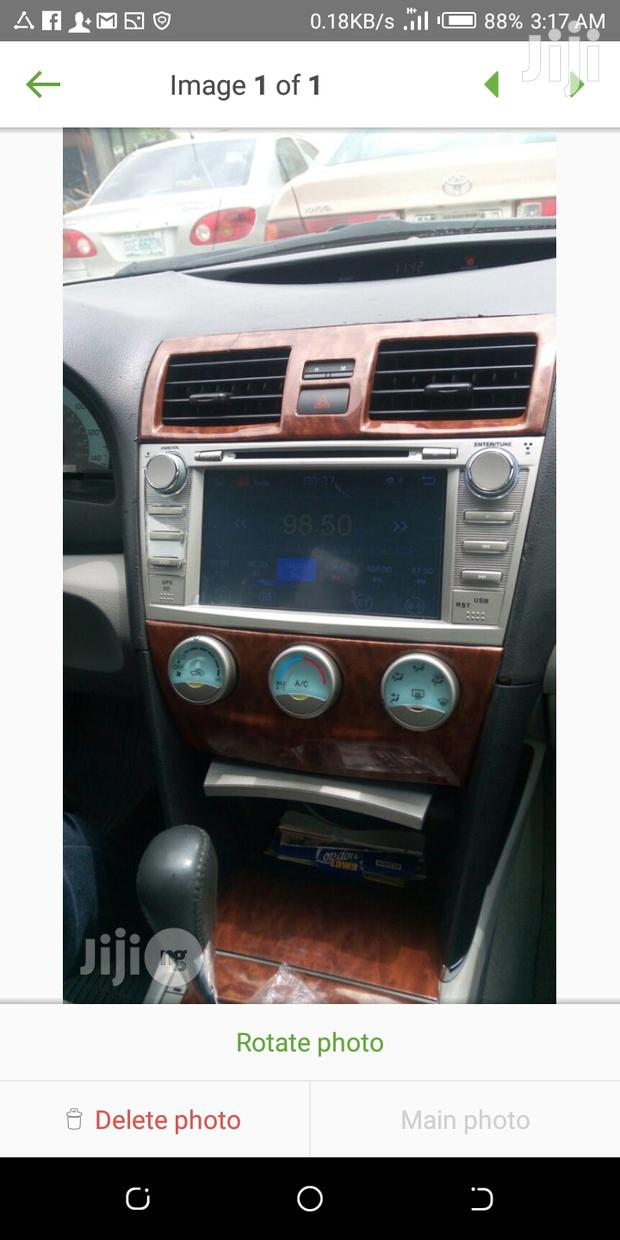 Toyota Camry DVD With Camera, USB, SD Card And Bluetooth