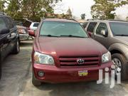 Toyota Highlander 2005 V6 Red | Cars for sale in Lagos State, Lagos Island