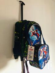 Fighter Xman Trolley And Backpack School Bag With Lunch Bag | Bags for sale in Lagos State, Lagos Mainland