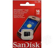Sandisk 16gb Memory Card   Accessories for Mobile Phones & Tablets for sale in Lagos State, Ikeja