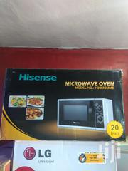 Brand New Hisense Microwave 20L Silver Mirror Manual 1year Warranty | Kitchen Appliances for sale in Lagos State, Ojo