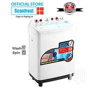 Scanfrost 6.8kg Twin Tub Semi-Automatic Washing Machine - SFSANTTD6. | Home Appliances for sale in Lagos State, Ilupeju