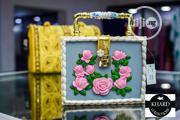 Khard Collections Fashion Acrylic Flowers & Diamonds Purse | Bags for sale in Lagos State, Ojodu