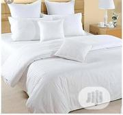 Quality American White Duvet, Bedsheet With 4 Pillow Cases | Home Accessories for sale in Lagos State, Ikeja