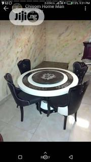 Quality Marble Dining Table With 6 Chairs | Furniture for sale in Lagos State, Maryland