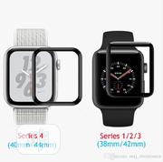 Apple Watch Series 4 40/42 Full Cover Glass Screen Protector | Accessories for Mobile Phones & Tablets for sale in Lagos State, Ikeja