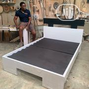 White And Black Bed Frame | Furniture for sale in Rivers State, Port-Harcourt