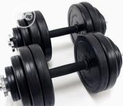 A Pair of 10kg Plastic Dumbbells | Sports Equipment for sale in Abuja (FCT) State, Central Business District