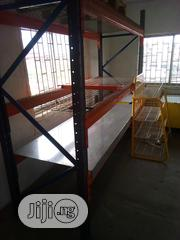 Heavy Duty Pallets Supermarket Rack Side View New | Building Materials for sale in Lagos State, Agboyi/Ketu