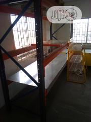 Heavy Duty Pallets Side View Rack New | Building Materials for sale in Lagos State, Agboyi/Ketu