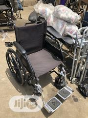 Fairly Use Wheel Chair | Medical Equipment for sale in Lagos State, Ikeja