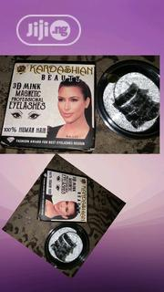 4 Pieces Kardashian Beauty 3D Mink Magnetic Professional Eyelashes   Makeup for sale in Lagos State, Amuwo-Odofin