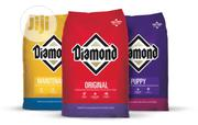 Original Diamond Premium Puppy And Adult Dog Crunchy Dry Food Big Bag | Pet's Accessories for sale in Lagos State, Victoria Island