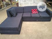 Black L Shape Sofa   Furniture for sale in Lagos State, Lagos Mainland