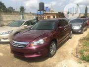 Honda Accord 2012 Sedan EX-L V-6 Red | Cars for sale in Lagos State, Ikeja