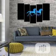 Horses 5pcs Wall Art | Home Accessories for sale in Lagos State, Agege