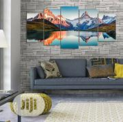 Mountains 5pcs Canvas Wall Art | Home Accessories for sale in Lagos State, Agege