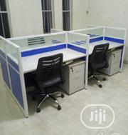Classy Glass Partition Office Workstation Table | Furniture for sale in Lagos State, Victoria Island