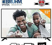 Bruhm 32-inch BFP-32LEW LED TV + FREE Wall Bracket | TV & DVD Equipment for sale in Abuja (FCT) State, Garki 2