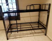 Latest Design Double Bunk Bed(2.5x6ft) and (3x6ft)Available | Furniture for sale in Lagos State, Ojo