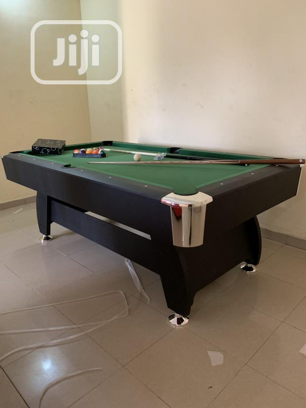New Pool Table With Complete Accessories