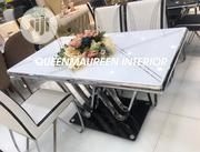 Portable Dining Table With Six Chairs | Furniture for sale in Lagos State, Isolo