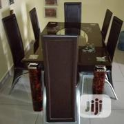 Quality Strong Six Seater Tinted Glass Dining Table   Furniture for sale in Nasarawa State, Lafia