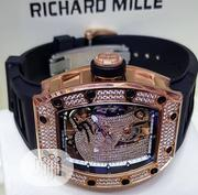 Richard Mille Men Ice Wristwatch Available as Seen Order Yours Now | Watches for sale in Lagos State, Lagos Island