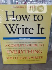 How To Write It | Books & Games for sale in Lagos State, Ikeja