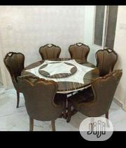 Good Quality Round Marble Dinning Table With 6 Chairs. | Furniture for sale in Abuja (FCT) State, Maitama