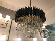 Gold And Black Crystal Chandler Can Be Used In Sitting Room, Church, | Home Accessories for sale in Lagos State, Lekki Phase 1