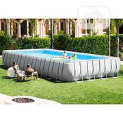 Intex 32ft X 16ft X 52in Ultra Frame Rectangular Pool Set | Sports Equipment for sale in Abuja (FCT) State, Central Business District