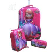 Sofia 3D 3in1 Trolley School Bag | Babies & Kids Accessories for sale in Lagos State, Ikeja
