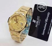 Hublot Gold Men'S Wrist Watch | Watches for sale in Lagos State, Ikeja