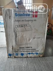 Scanfrost Twin Tub 8.2kg Semi Automatic Washing Machine | Home Appliances for sale in Abuja (FCT) State, Kaura